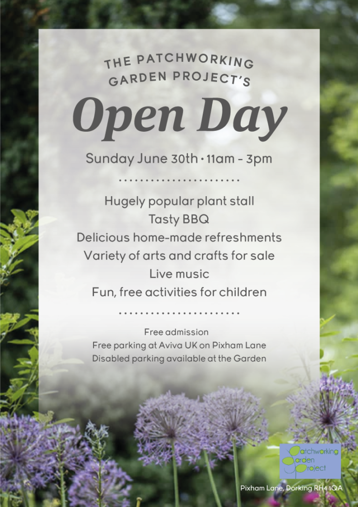 Patchworking Garden Project Open Day
